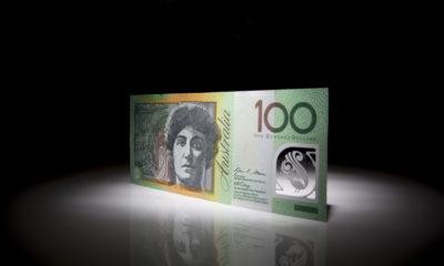 An Australian one hundred dollar