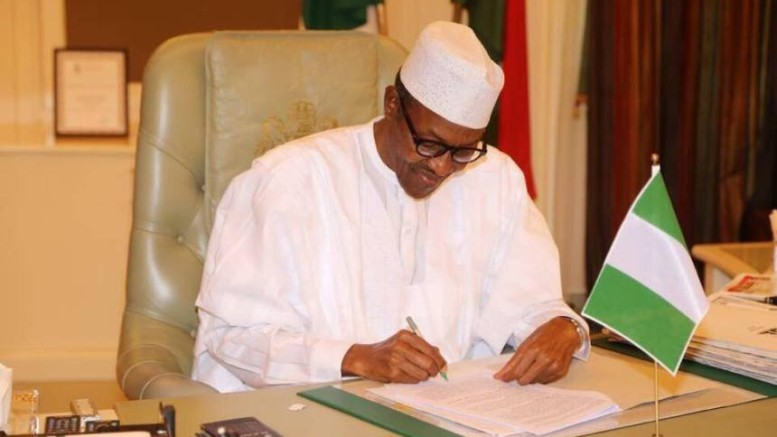Buhari talks tough, orders Nigerian agencies to switch to Treasury Single Account