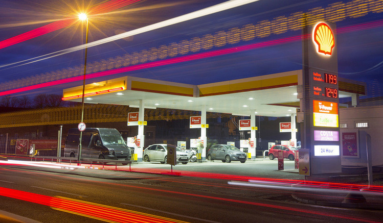Shell filling station In Nigeria