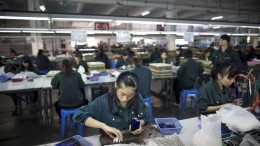 China manufacturing contracted