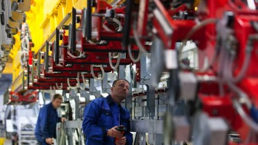 Operations Inside ThyssenKrupp Escalator Factory in Hamburg