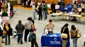 Inside A Job Fair Ahead Of Jobless Claims Figures