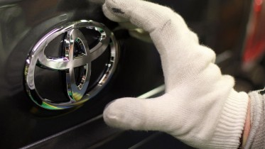 Car Production at Toyota's Derbyshire Plant