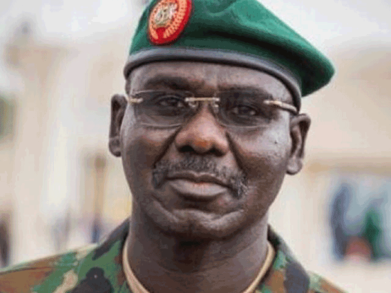 Chief of Army Staff, Lieutenant General Tukur Burata