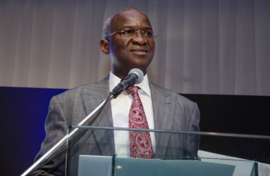 The Minister of Power, Works and Housing, Babatunde Fashola