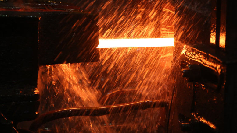 Steel Manufacture At Evraz Plc West-Siberian Metallurgical Plant