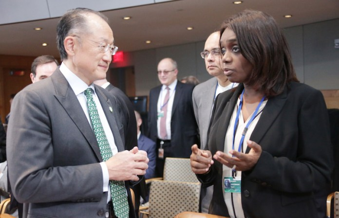 kemi-adeosun-and-jim-yong-kim-in-washington-dc
