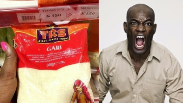 Indian packaged garri