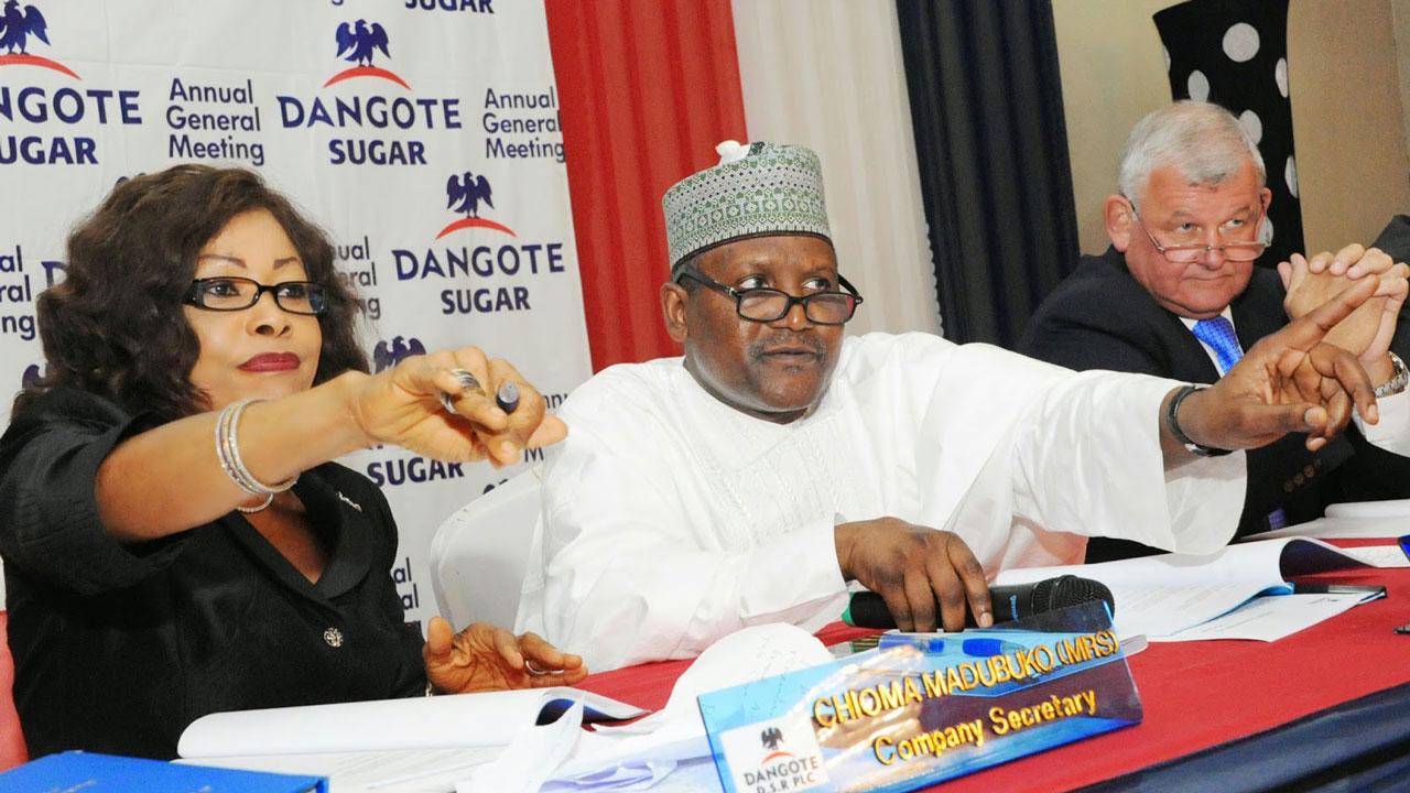 Dangote Sugar Refinery Plc