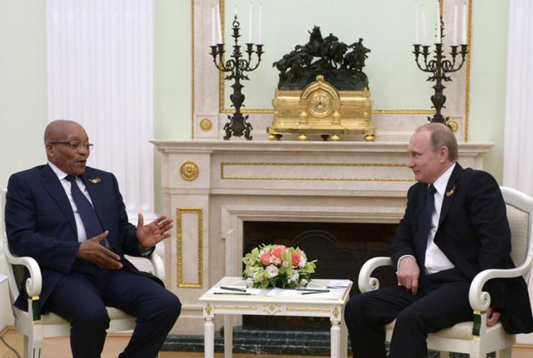 Zuma and Puttin