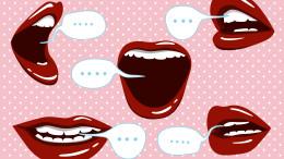 mouth talking