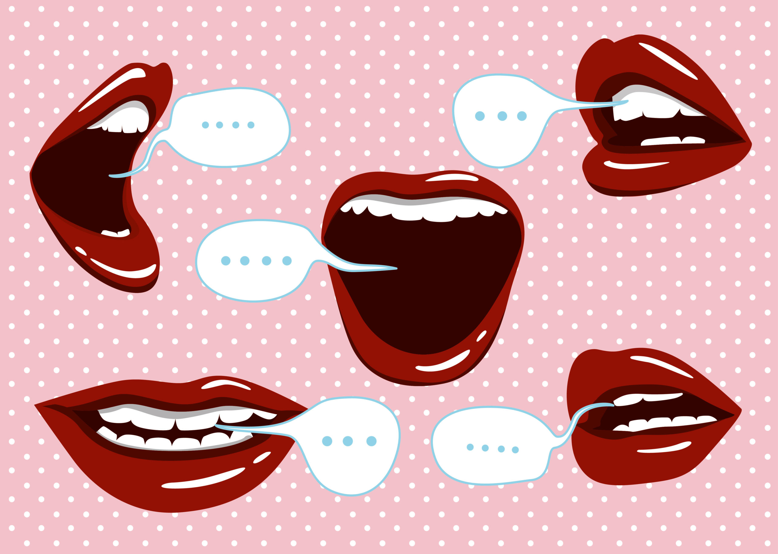 mouth talking