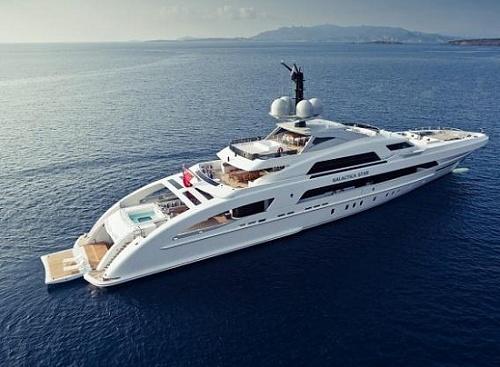 Kola Aluko yacht