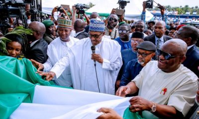 Buhari in Port Harcourt