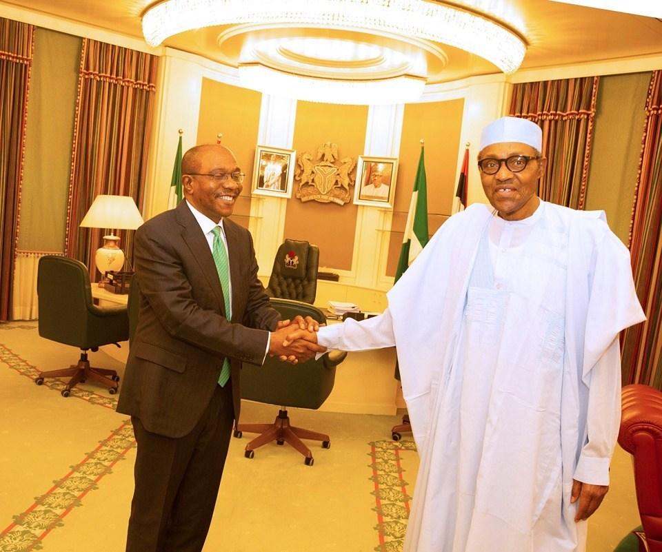 Godwin Emefiele and President Muhammadu Buhari - Investors King
