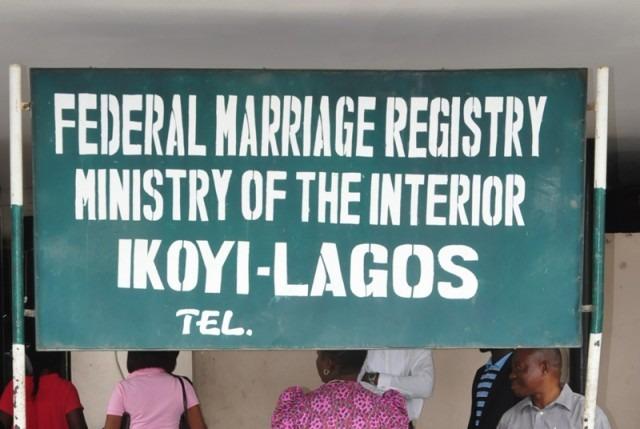 Marriage Registries
