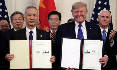 US and China signs