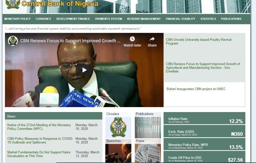 CBN website