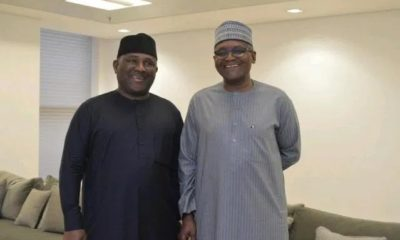 Dangote with BUA's Samad Rabiu