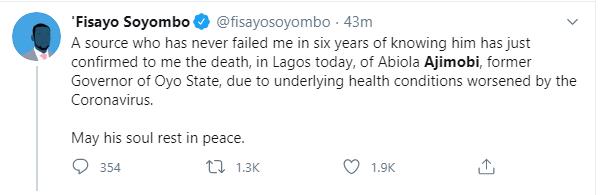 Fisayo Soyombo