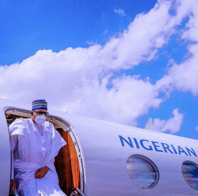 Buhari arrives Bamako, Mali