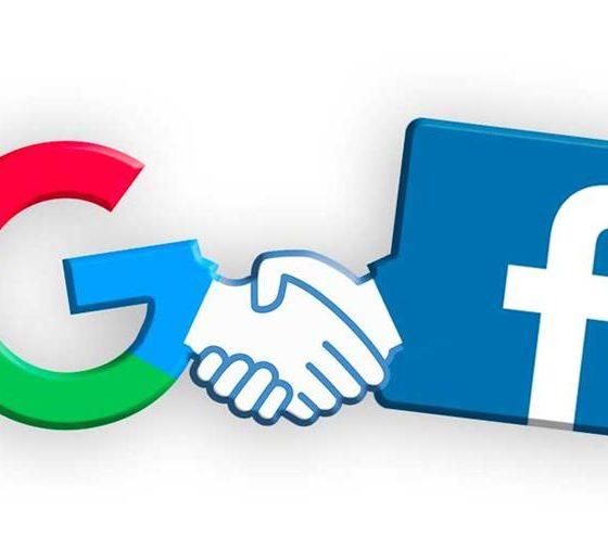 facebook and google ads revenue uk