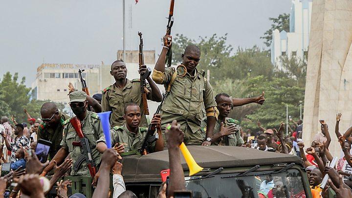 Malian Mutinying Soldiers