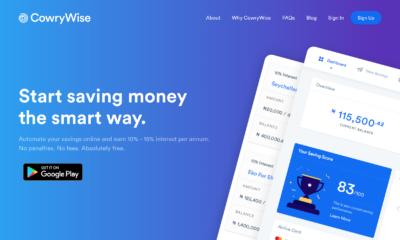 Cowrywise - Investors King