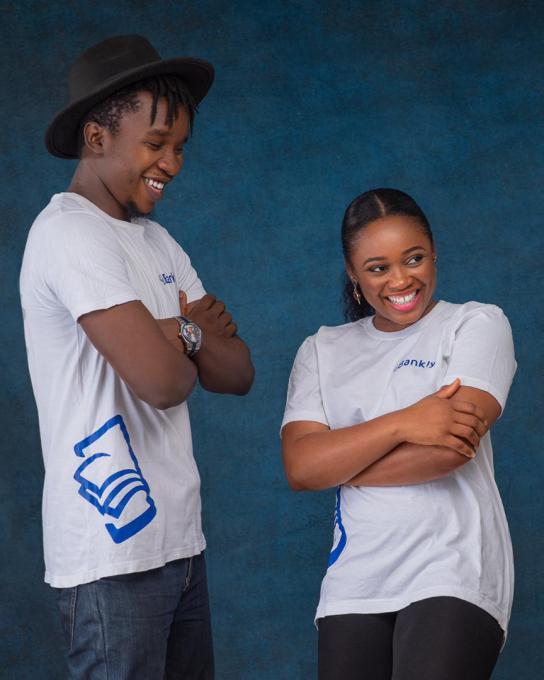 L-R: Fredrick Adams (CPO) and Tomilola Adejana (CEO)