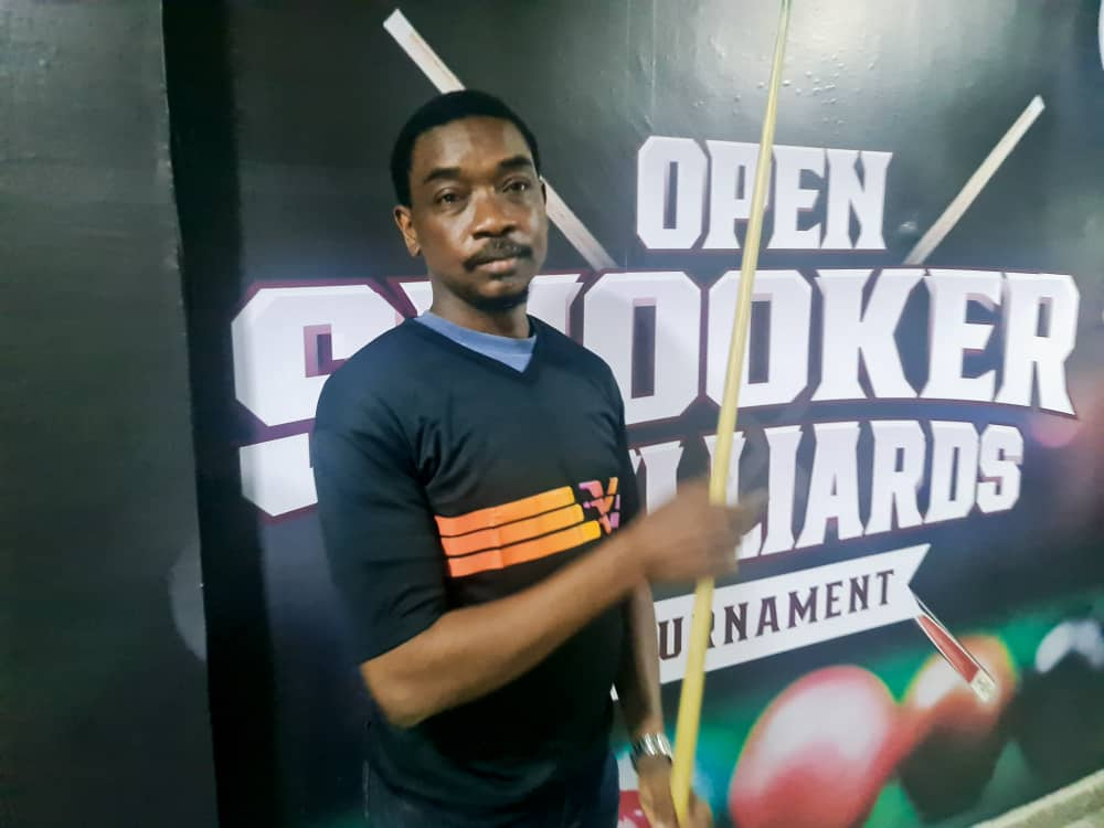 Wole Akinola, Billiards champion