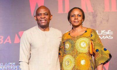 Tony Elumelu and Wife - Investors King