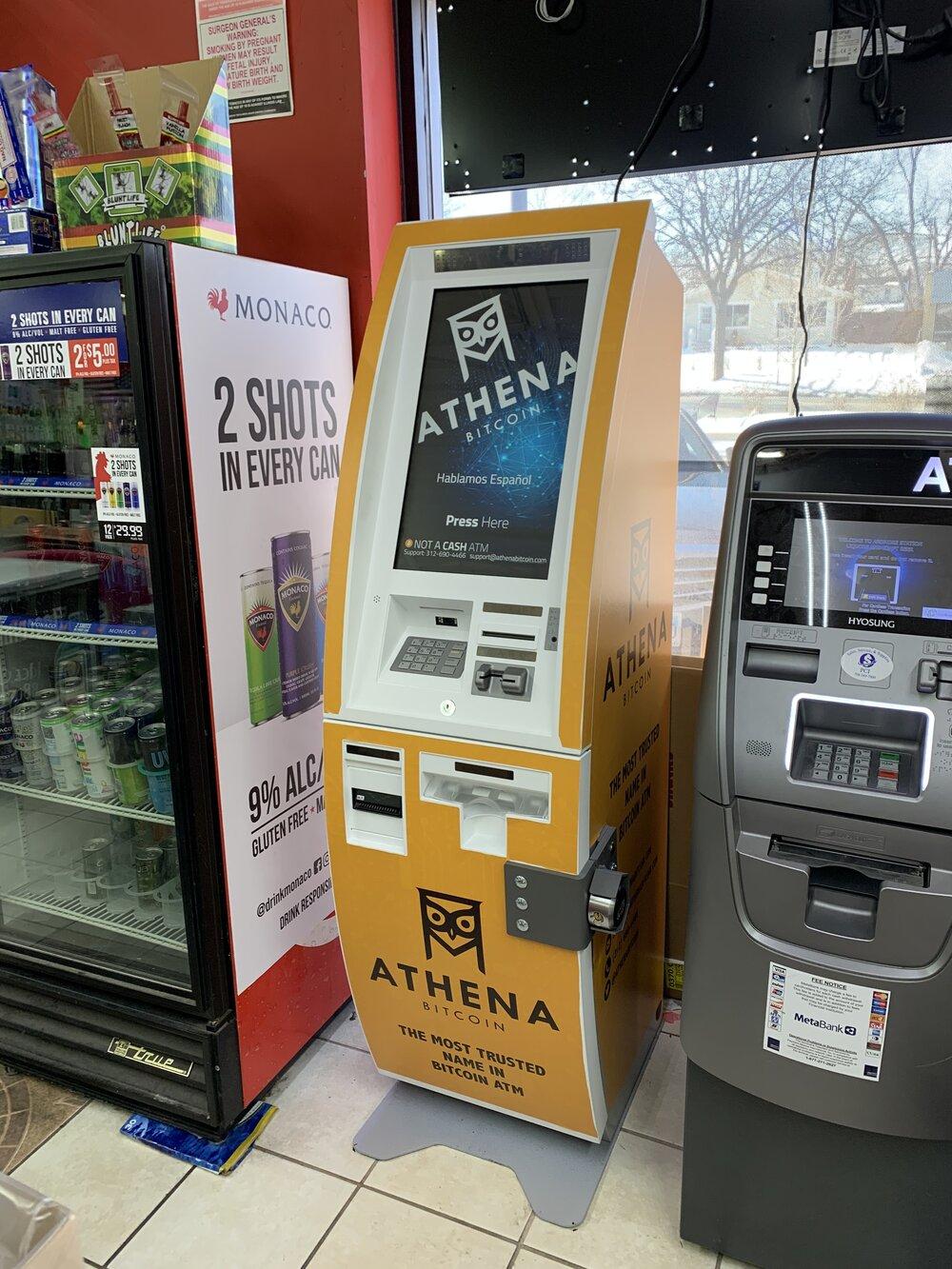 Athena Bitcoin ATM- Investors King