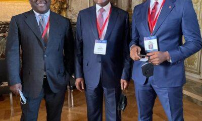 Abdul Samad Rabiu, Aliko Dangote and Tony Elumelu - Investors King