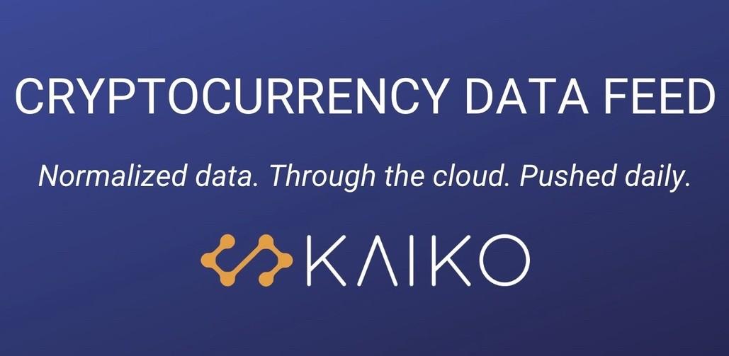 Kaiko Crypto Data Firm- Investors King