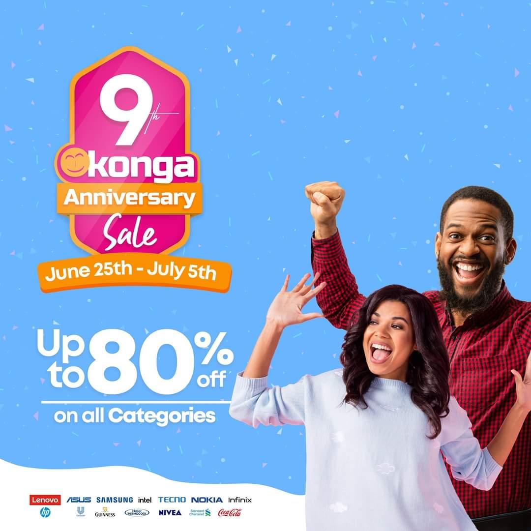 Konga 9th Anniversary- Investors King