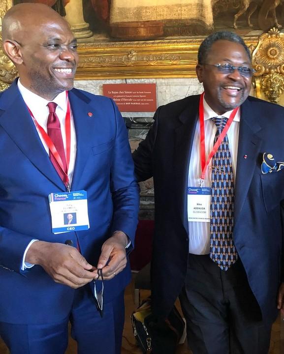 Tony Elumelu and Mike Adenuga - Investors King