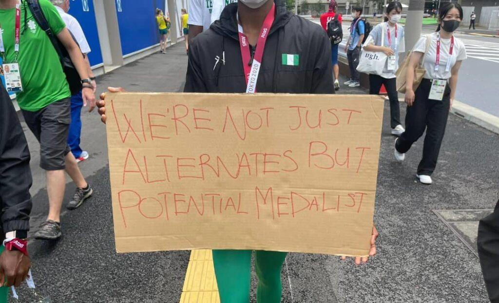 Disqualified Nigerian Athletes